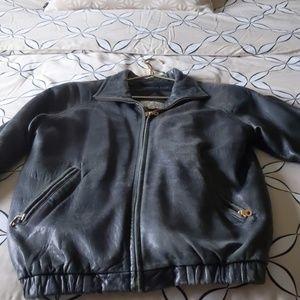 Vintage Valerie Stevens leather jacket